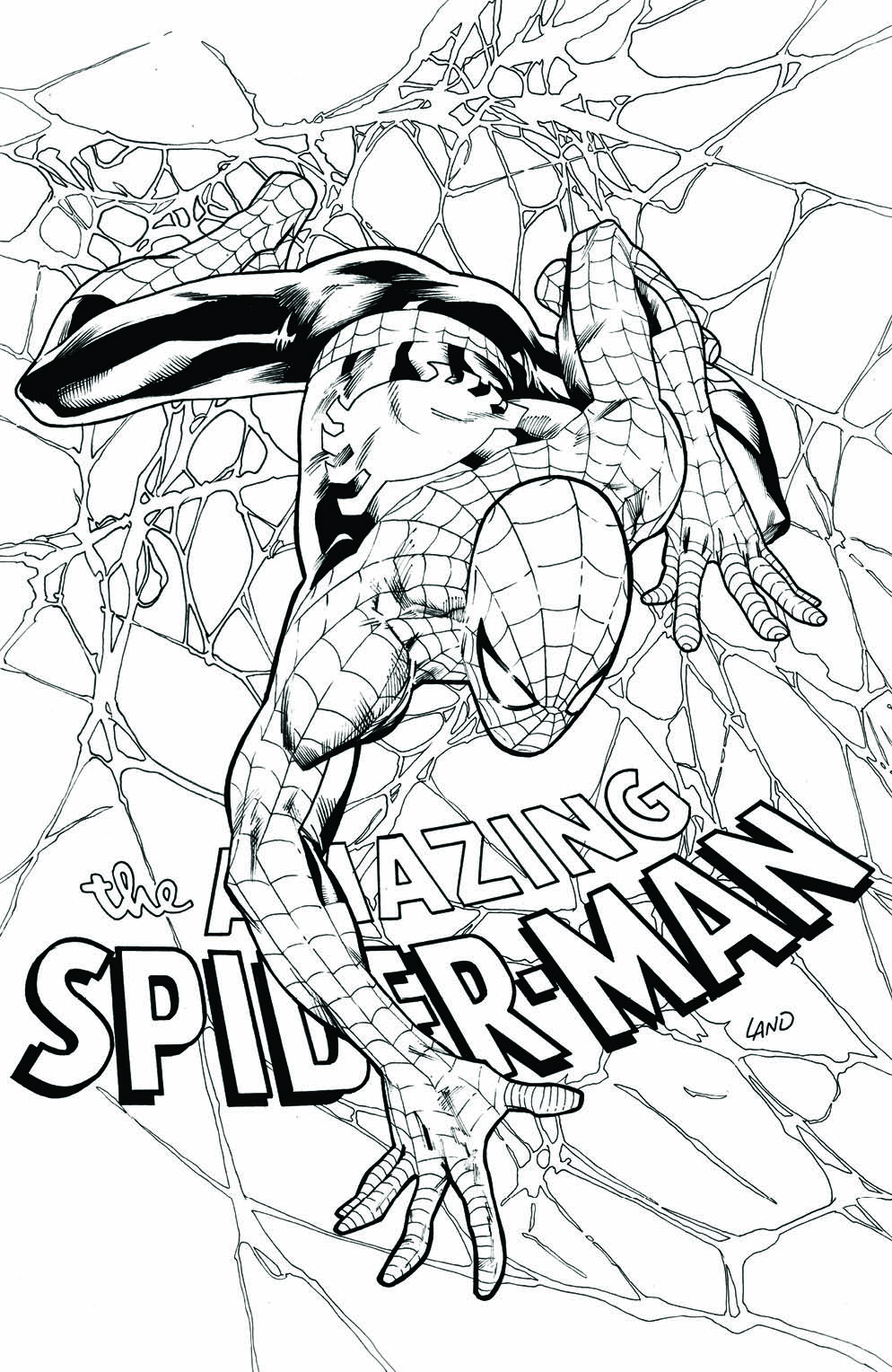 AMAZING SPIDER-MAN #798 GREG LAND VIRGIN SKETCH VARIANT